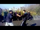 Very rare footage:  authentic kongfu sparring  : Winchun(詠春拳)VS Xingyi(形意拳)