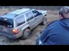 Jeep zj small mud hole