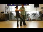 David Hassis & Joy Davina dance West Coast Swing