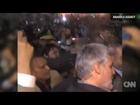 Le dan la bienvenida al presidente iraní Mahmoud Ahmadinejad a