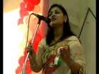 ANAMIKA AMBER SANG HER BEST KAVITA IN DUMKA INDOOR -STEDIUM