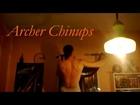 Archer Chinups - One Arm Chinup/Pullup Progression Exercise (On Bar)