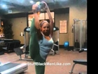 Big Booty Video Models Working Out In Gym [Self Shot Pics)