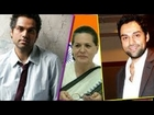 Why does Abhay Deol want to spy on Sonia Gandhi