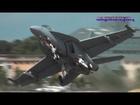 BOEING F18F SUPER HORNET DEMO 2012 - FARNBOROUGH AIRSHOW (airshowvision)