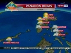 QRT: Weather update as of 5:55 p.m. (Nov 12, 2012)