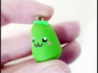 Cute Kawaii Pear Charm Tutorial - Day One