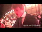 Bradley James On The Red Carpet at the National Television Awards 2013