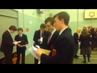 Ballyclare High School Mock GCSE Results Day 2013