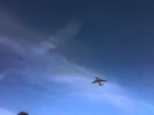 Space Shuttle Fly By at Moffet Field