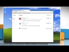 How to disable Google™ Chrome Extensions in Windows® XP