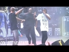 A$AP Rocky Fan Crashes Stage During