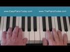 Jingle Bells - How to Play Easy Piano Tutorial for Beginner Lesson - Christmas Songs
