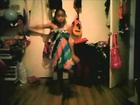 Daughter dancing to Zendaya