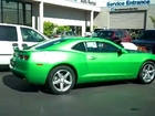 2010  Synergy Green Chevrolet  Camaro