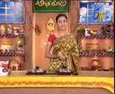 Abhiruchi - Recipes - Senaga Pappu Rice, Tomato Appalu & Ragi Sankati Menti Pulusu - 04