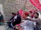PTI Bike Rally in Pirpiai, Nowshera